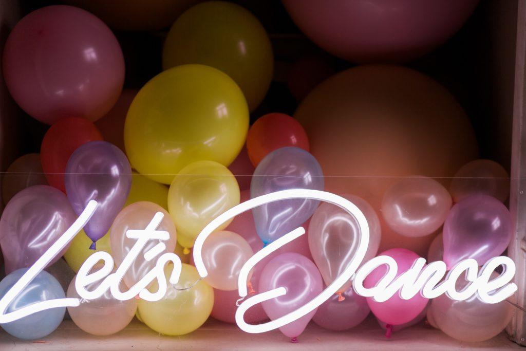 'Let's Dance' Neon Lights