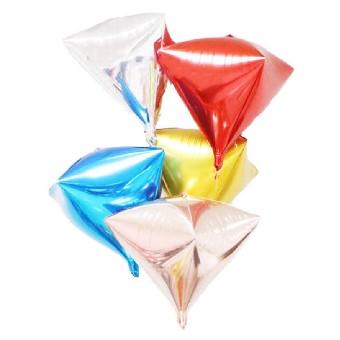 Foil Cubes and Diamonds
