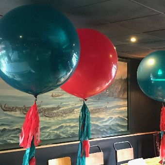 3ft Tassel Tail Balloons
